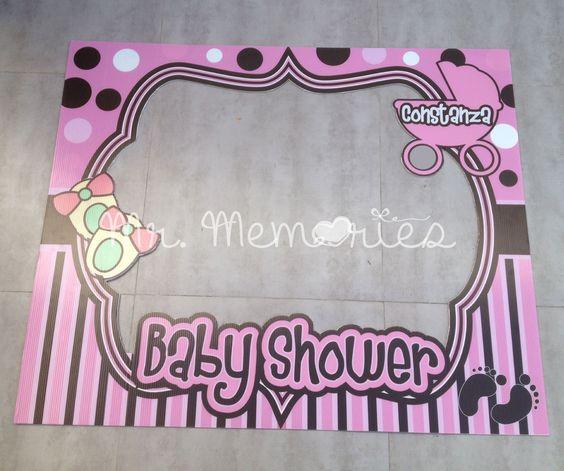 Marco para fotos baby shower marco para fotos - Decoracion de marcos para fotos ...