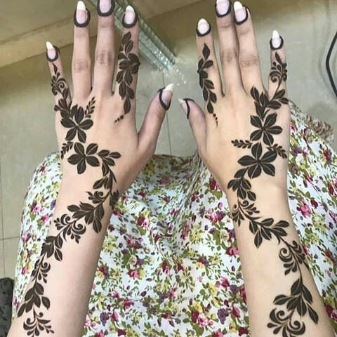 Pin By Manal M On Henna Henna Tattoo Designs Simple Simple Henna Tattoo Finger Henna Designs