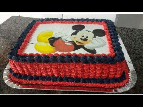 Pin De Liliana Vasquez Em Bautizo Com Imagens Bolo Do Mickey