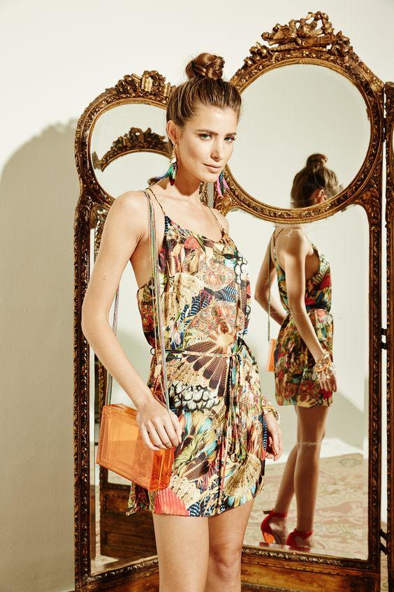 Vestido Leques - Verão 2014
