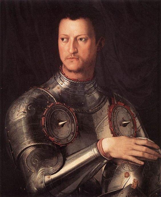 Cosimo I de' Medici by Agnolo Bronzino, 1545 (Uffizi Gallery, Florence)
