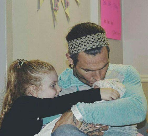 Jeff Hardy and his wife Beth welcomes second daughter