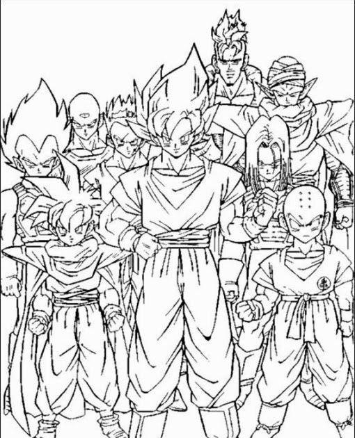 Dragon Ball Z Coloring Pages Goku Dragon Ball Z Coloring Pages Dragon Ball Image Dragon Coloring Page Super Coloring Pages