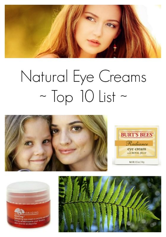 This year's ten best eye creams with natural ingredients