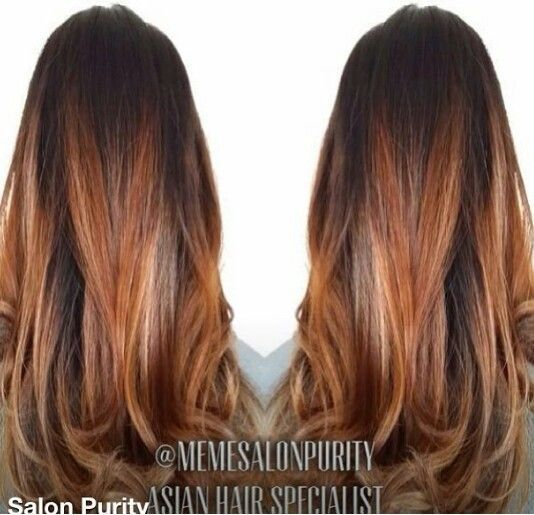 brown copper blonde balayage google search hair pinterest beautiful kupfer und farben. Black Bedroom Furniture Sets. Home Design Ideas