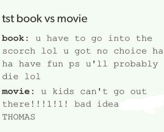 Book vs movie so accurate