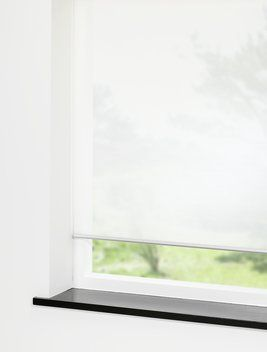 Rullegardin TESSE 90x210cm hvid   JYSK store vinduer