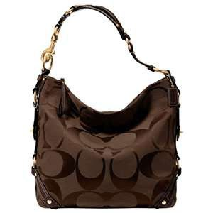 Coach Purses! Not a brown purse fan, but I love this one!