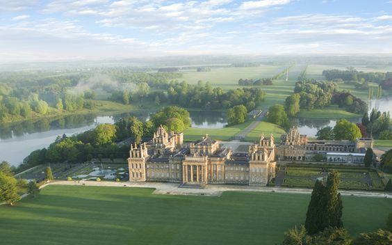Blenheim Palace, Oxfordshire, by Capability Brown: