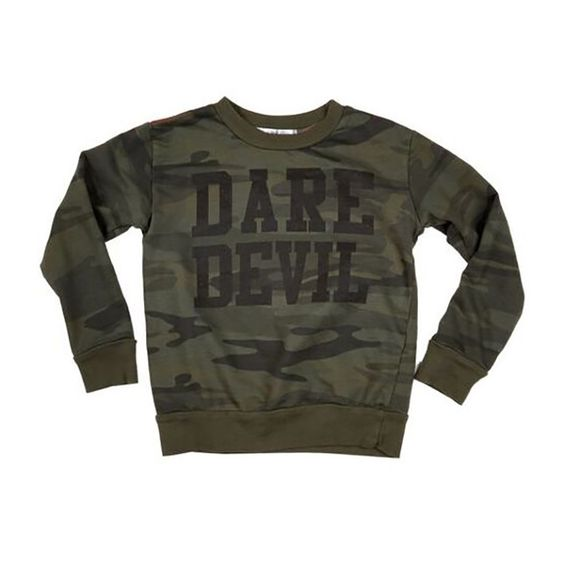 Dustin Spruce Dare Devil Sweatshirt