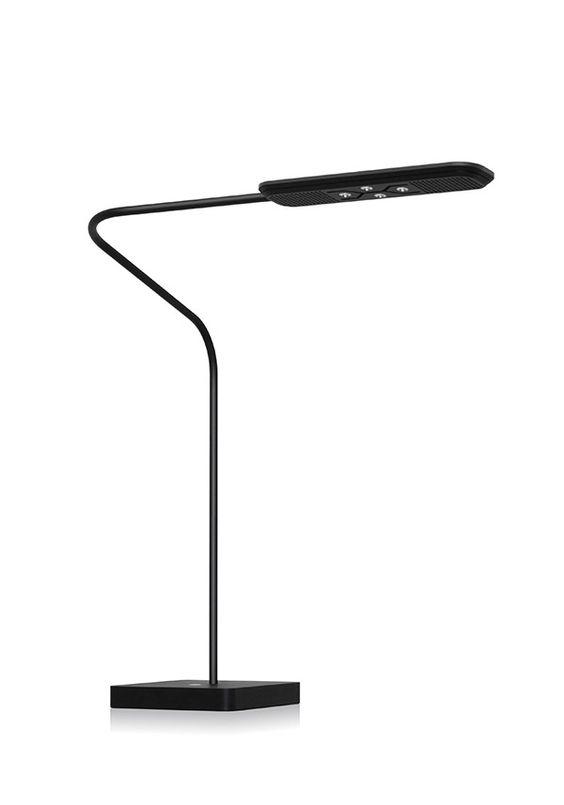 BALMUDA Highwire | LED光源による1000ルクスを超える十分な光と、視界の明るさの差を少なくする独自の設計により、ディスプレイを見る時の目の疲労を大幅に軽減します。