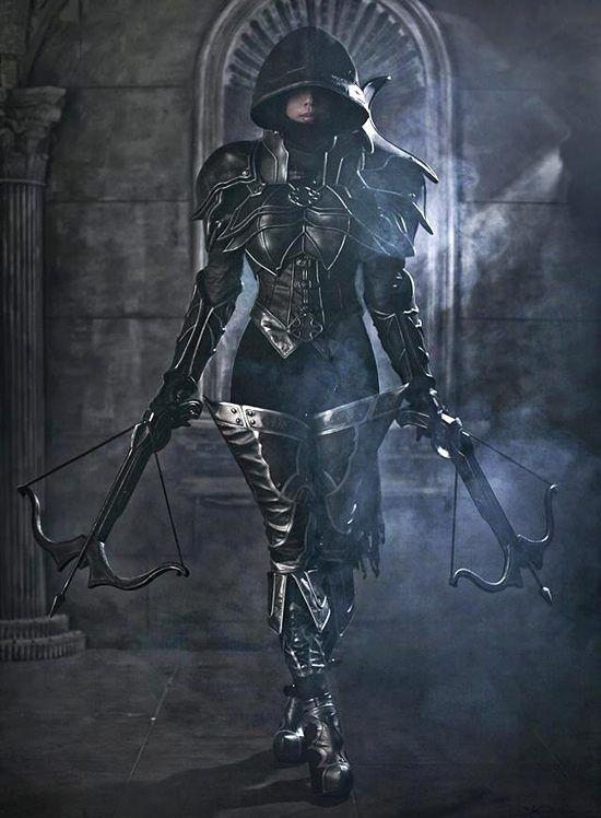 Diablo 3 Demon Hunter Cosplay