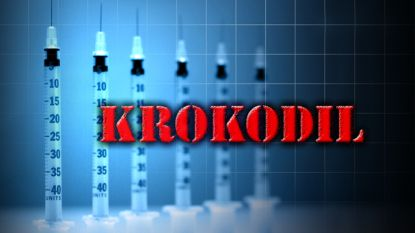 """MURRAY — Health officials have encountered two cases they suspect are tied to a flesh-eating street drug that has appeared in several states.The drug, known as """"Krokodil,"""" has been reported to be eating people from the inside-out, leading to flesh falling off and other injuries."""