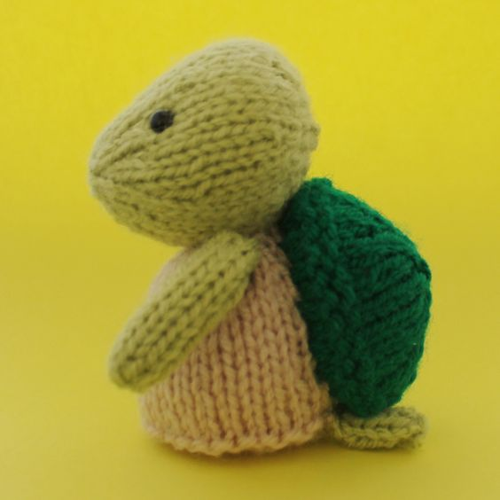 Knit turtle pattern with different leg styles to choose from. Knit and Croc...