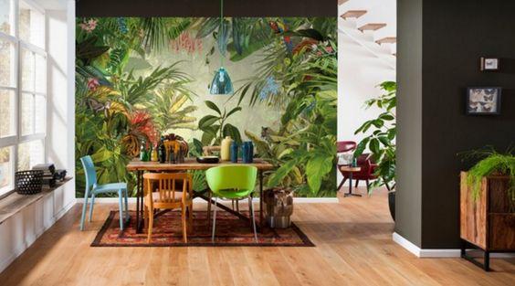 Colores flúor para la cocina, selvas tropicales en el salón, trofeos de caza…