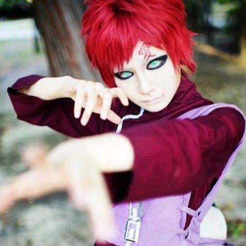 Gaara cosplay, Naruto shippuden and Cosplay on Pinterest Gaara Cosplay