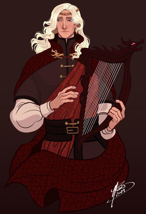 Rhaegar Targaryen by naomimakesart on DeviantArt