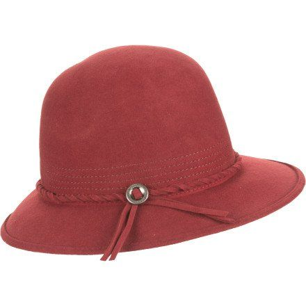 Brixton Women's Kat Hat, Wine, Small