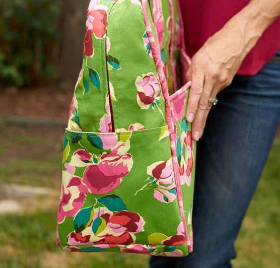 Weekender Bag Kit featuring Amy Butler Fabrics -