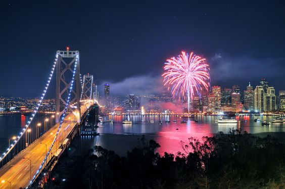 San Francisco Lights one up for my 50th by Darvin Atkeson, via 500px