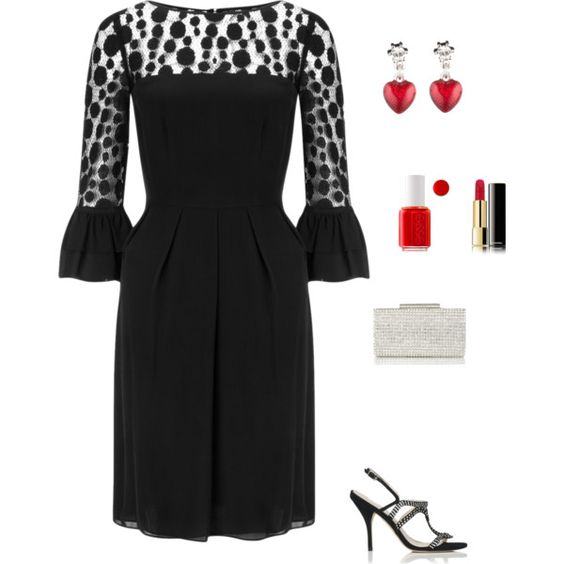 """Dinner date"" by mfsadler on Polyvore"