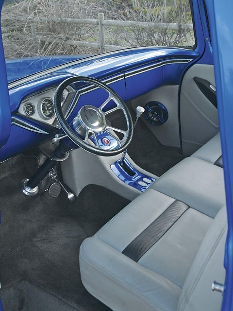 Truck Interior 1955 Chevy Stepside Interior 55 Chevy Truck Ideas