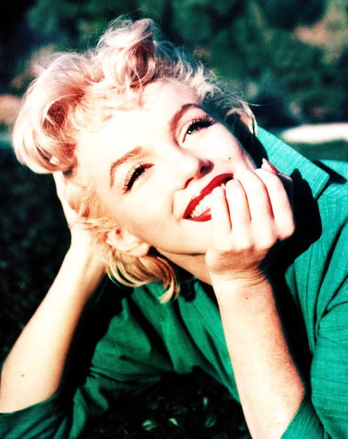 Marilyn Monroe in Palm Springs by Ted Baron, spring 1954: