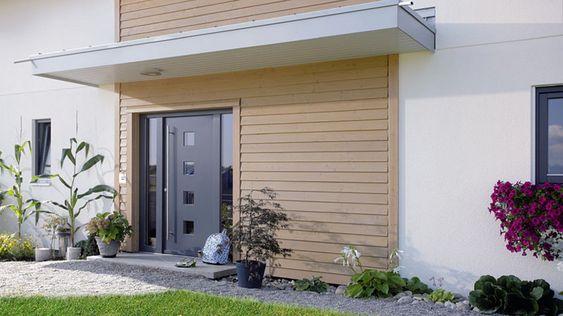 Hauseingangselemente - Haustüren, Seitenelemente, Überdachungen - SchwörerHaus KG