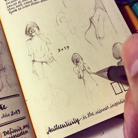 Drawing Beautiful Things Is Always A Pleasure Jose Naranja