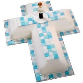 Faith Mosaic Cake