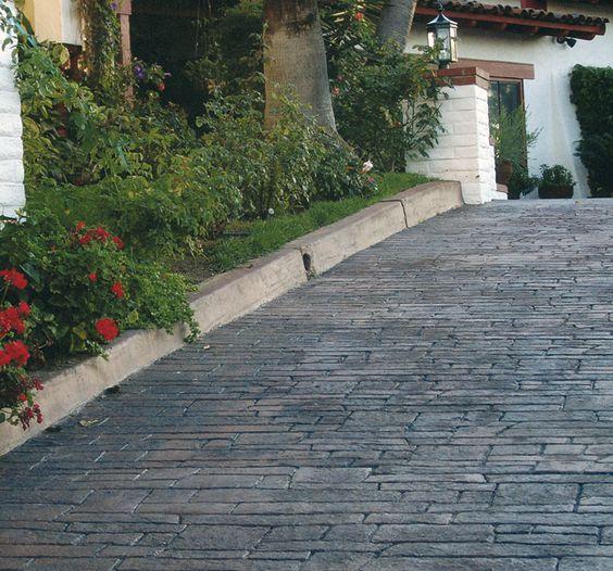 Oximar pavimentos pavimentos de hormig n impreso for Hormigon para pavimentos