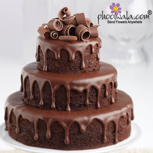 Online Designer Cake Delivery From Phoolwala In 2020 Ultimate Chocolate Cake Chocolate Ganache Cake Chocolate Cake Recipe