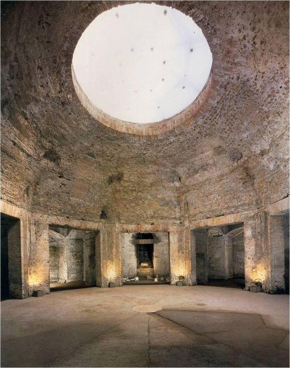 Aula Ottagona--Octogonal Hall