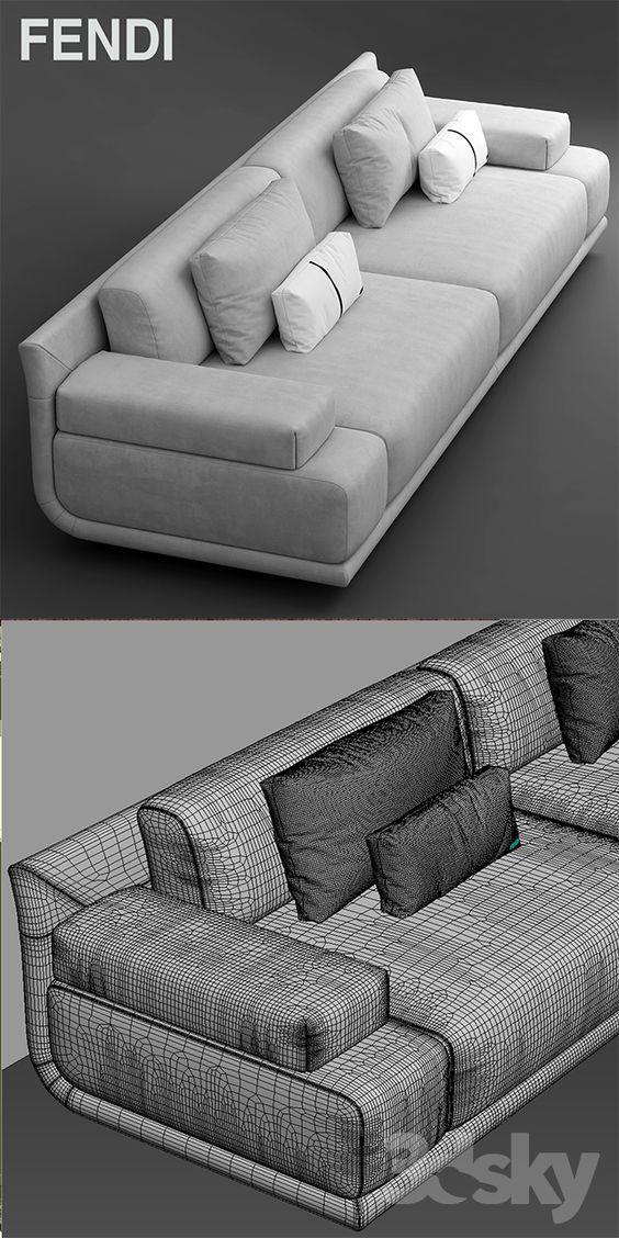 3d Models Sofa Sofa Fendi Casa Artu Sofa White Leather Sofa Bed Wooden Sofa Designs Leather Sofa Bed