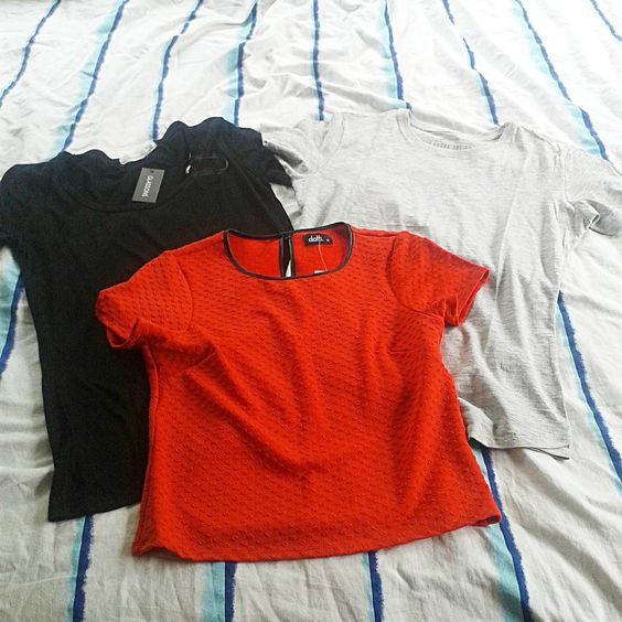 """Some new tops i picked up recently #clothing #fashion #fashionblogger #dotti #glassons #cottonon #basics #style"""