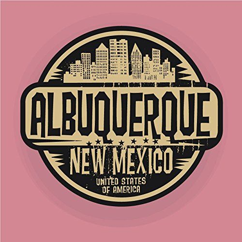 Albuquerque City Usa Grunge Label Home Decal Vinyl Sticker 12 X 12 You Can Get Additiona Car Bumper Stickers Bumper Stickers Custom Car Decals