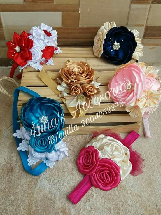 "3/"" Baby Girl Lady Chiffon Rose Flower Bow Hair Clip Pin Pearl Rhinestones Centre"