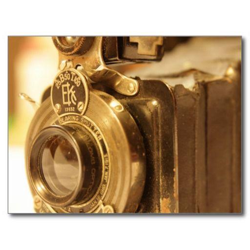 Appareil-photo vintage 2 cartes postales | Zazzle