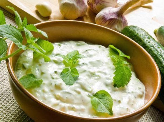 Картинки по запросу низкокалорийные соусы на основе йогурта