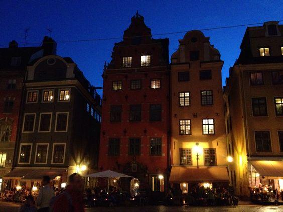 Summer night in Gamla Stan, Stockholm