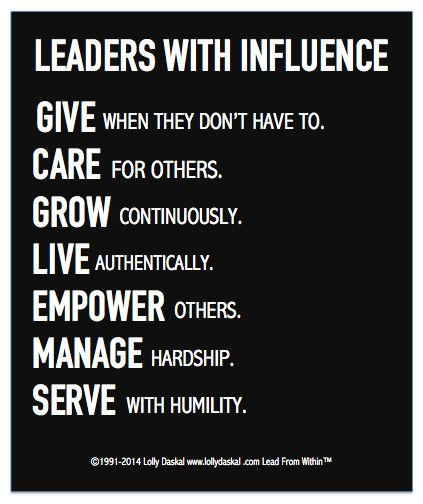 leaders-with-influence-give-care-grow-live-empower-manage-serve-quote