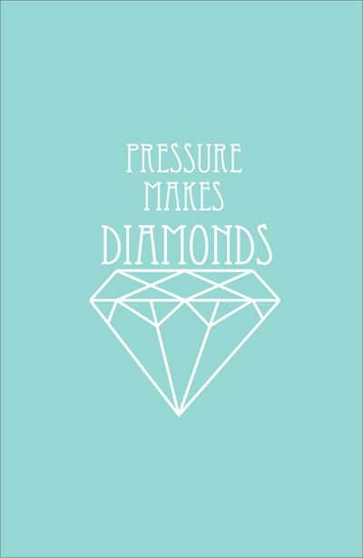 : Pressure Makes Diamonds Quotes, The Dirty Heads Quotes, Diamonds Amen, Exam Stress Quotes, Wise Words, Quotes Diamonds, Diamond Quotes, Exam Quotes