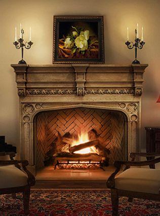 39 tudor a 39 mantel by tartaruga designs fireplace for Tudor style fireplace