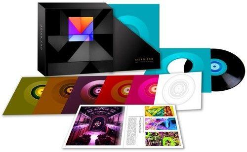 Brian Eno Music For Installations Record Albums Art Generative Music Boxset