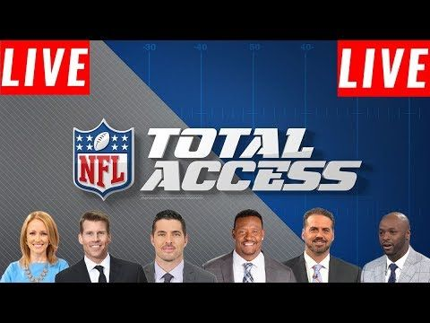 Hd Nfl Total Access 10 16 2019 Live Hd Good Morning Football