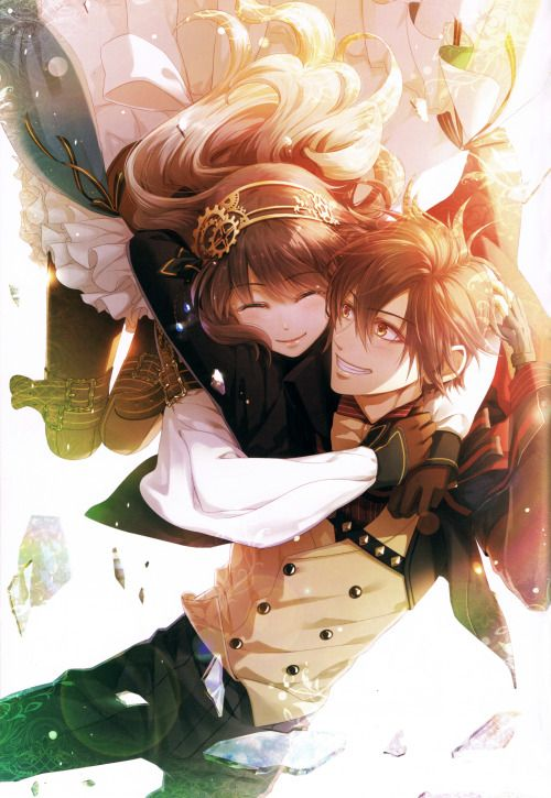 Book Cover White Hair : Code realize sosei no himegimi official art book the