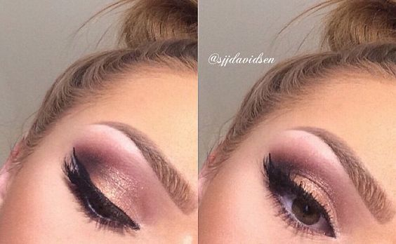 """Makeup done with the MUR palette """"Flawless"""""""