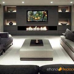 fireplaces by Ethanol Fireplaces ideas Pinterest Shelf