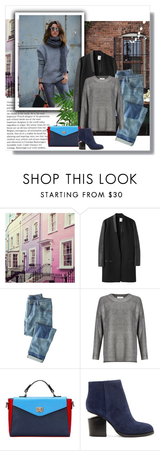 """""""Untitled #173"""" by borabo ❤ liked on Polyvore featuring Jeremy Laing, Wrap, John Lewis and Alexander Wang"""