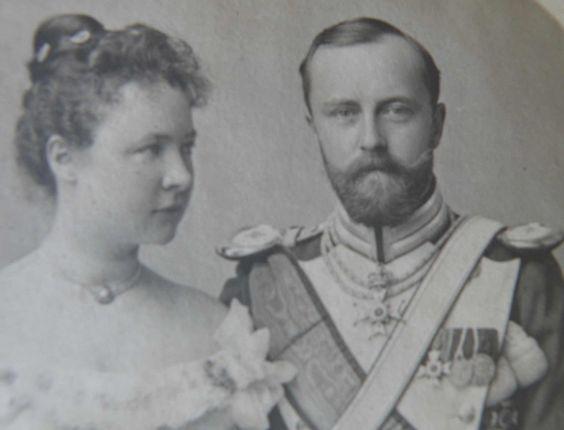 Fürst Leopold und Bertha zur Lippe